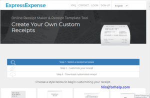 express expences by nirajforhelp.com