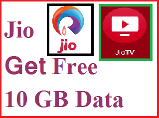 GET 10 GB FREE DATA FROM Jio