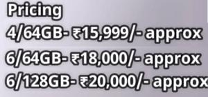 Xiaomi latest phone : Xiaomi Mi 6x (Mi A2) Specification
