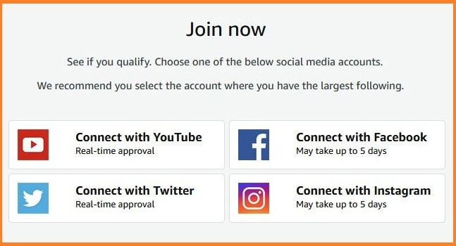 Amazon Influencer Program को कैसे Join करे