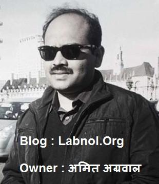 Top 10 Best Indian Bloggers, Blog, & Earning  Everything - Labnol.Org, Amit Agrawal - Nirajforhelp.com