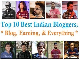 Top 10 Best Indian Bloggers, Blog, & Earning Everything - Nirajforhelp.com
