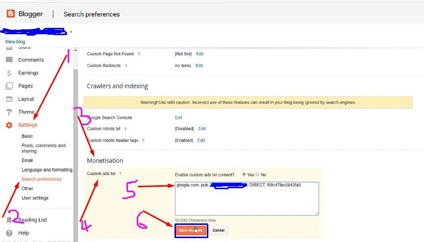 How to fix Ads.txt problem in google adsense acoount - Blogger User.