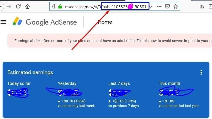 How to get Google Publisher id from Google adsense account - Nirajforhelp.com