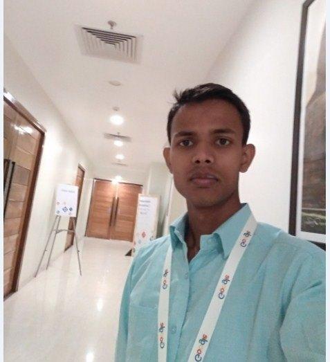 Niraj Kumar and his friend at Webmaster Confrense 2019 Patna in Lemon Tree Hotel