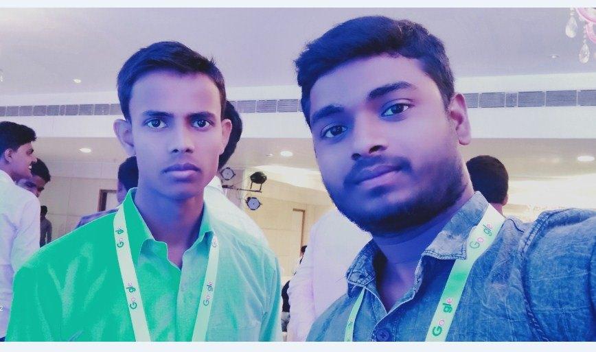 Niraj Kumar & Technology Idea Youtube Channel Owner at Webmaster Conference Patna 2019