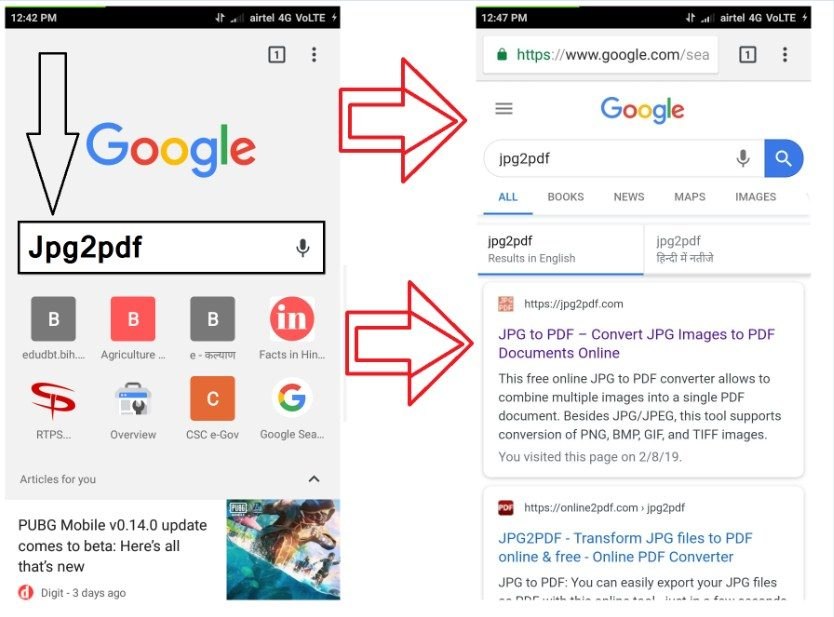 Search-रिजल्ट-में-सबसे-ऊपर-वाले-लिंक-Jpg2pdf.com-पर-Click