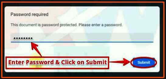 PAN Card के pdf file को ओपन करने के लिए पासवर्ड