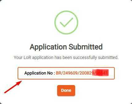 Application Finlay Submitted for LoR Apply