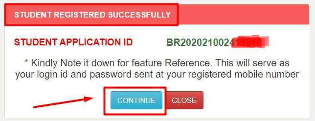 NSP Registration Successfully Complete & Got Application ID