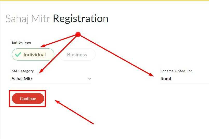 Sahaj Mitr Registration Form