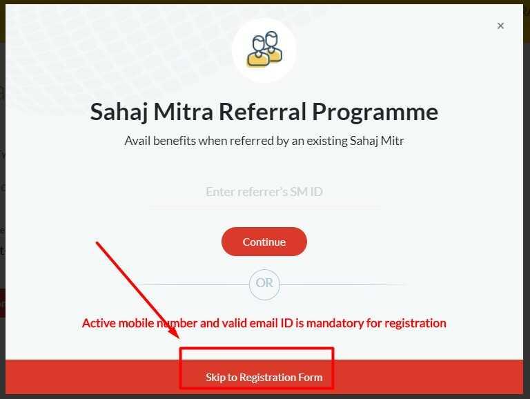 Sahaj Mitra Referral Programme