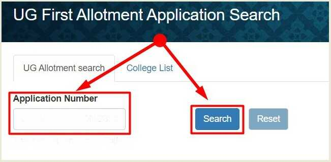 JP University 1st Merit List of UG