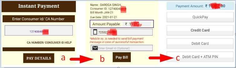 Bihar Electricity Bill Pay via Suvidha App Hindi