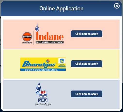 Apply for New Gas Connection from Indane Bharatgas & HP Gas Company under PM Ujjwala Yojana